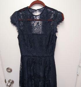 BB Dakota Rhianna Lace Fit & Flare Dress